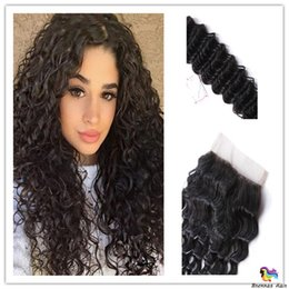 full head brazilian human hair UK - 3pcs for full head Peruvian Indian Malaysian Brazilian human Hair Weave Bundles Deep Curly Human Hair Extensions No Tangle Seamless