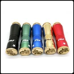 Vape mechanical aV online shopping - AV MOD Clone Mechanical Starter Kit Vape Pen fit Battery Mechanical Mods Colors Brass Aluminum Material