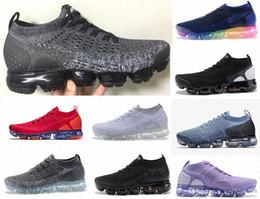 2018 maxes 2.0 V2 Triple blanco negro rojo tpu Oreo Hombres Mujeres Chaussures zapatillas deportivas Zapatillas de deporte zapatillas de running 36-45 en venta