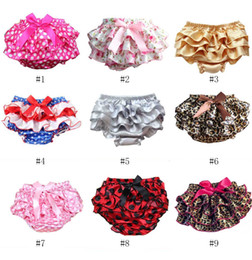 $enCountryForm.capitalKeyWord Australia - Baby Pantskirt Newborn Girl Shorts Baby Diaper Covers Fashion Ruffle Baby Bloomers Photo Props Clothing 0-3T