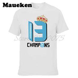 real madrid fans 2019 - Men 2018 real La Tredecima T-shirt 13 s Clothes T Shirt Men's Tshirt For hala madrid ronaldo Fans Gift Tee W1805230