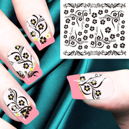 $enCountryForm.capitalKeyWord Canada - New 3D nail stick black and white gold three color A001-A090