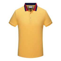 Jerseys Wolf Canada - Men Polo Shirt Brand Mens embroidery Wolf Polo Shirts Camisa Masculina Men's Casual Cotton Short Sleeve Polos hombre jerseys 1544