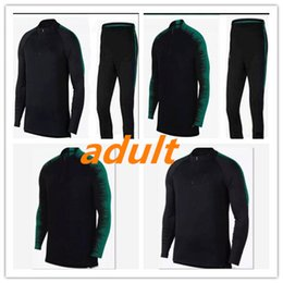 2018 AAA+ top Thailand soccer tracksuit 18-19 PORTUGAL adult Training suit  pants football training clothes sportswear mens Sweater 5f23090c37987