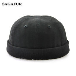 Discount skulls accessories - SAGAFUR Unisex Coon Beanies Solid Color Brand Outdoor Caps Fashion Accessory Casual High Quality Round Hat Sun Protectio
