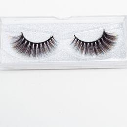$enCountryForm.capitalKeyWord UK - Seashine hot new style Luxurious eyelashes colorful Synthetic 3d silk eyelash strips eyelashes color false lashes free shipping shipping