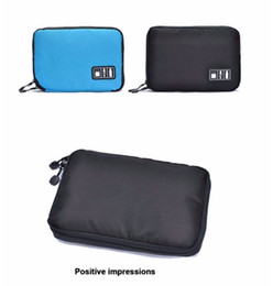 Flash hard drive online shopping - 50pcs Outdoor Electronic Accessories Bag Hard Drive Organizers Earphone Cables USB Flash Drives Travel Case Digital Product Picnic Bag