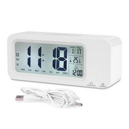 Опт Цифровой будильник, Relohas говоря часы с 3-мя сигнализациями, смарт-сенсорная подсветка, повтор, встроенная перезаряжаемая литиевая батарея