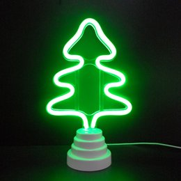 neon christmas tree NZ - OHANEE Custom fit Christmas Tree led tube Neon Sign Light home bedroom wedding festival decoration Arts Crafts birthday Gifts Lighting