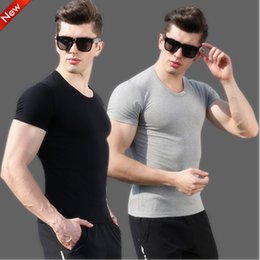 70e8f26150d 2018 Summer Korean Self-cultivation Full Cotton Short Sleeve T Pity Men And  Women Youth Round Neck Half Male Rendering U t-shirt fashion