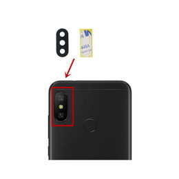 Chinese  for Xiaomi Redmi 6 Pro  Mi A2 Lite Camera Glass Lens Back Rear Camera Glass Lens with Glue Replacement Repair Spare Parts manufacturers