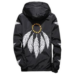 Slim Black Men Models NZ - NEW Men Spring Autumn Thin Jacket Coat,Men women Feather jackets sports windbreaker jacket explosion Black models Windrunner jacket couple