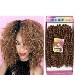 "hair braiding accessories Australia - 3strands pack 10""inch short length synthetic curly hair extensions Ombre Kanekalon Kinky Curly Twist braiding crochet hair bundles"
