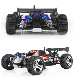 venda por atacado Novo design Wltoys viaturas A959 carro de controle remoto 4WD 2 .4ghz Com 40 -60km / Hora alta velocidade Rc carro elétrico Toy Presente para o menino