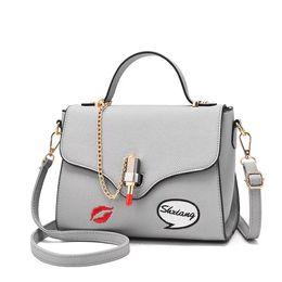 $enCountryForm.capitalKeyWord UK - New Summer Chains Bag for Women 2018 Handbags Ladies PU Leather Shoulder Bag Lipstick Lock Bolsas Female Crossbody Bags