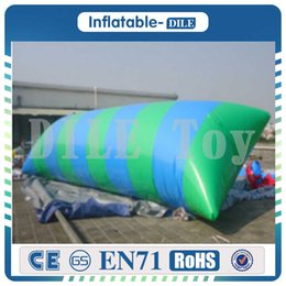 $enCountryForm.capitalKeyWord NZ - High Quality 7m*3m Inflatable Water Blob,Water Blob Jumping Bag ,Inflatable Jumping Ball For Children With Free One Pump