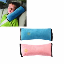 Discount seat belt harness pads - Baby Auto Safety Seat Belt Harness Children Protection travel snooze Shoulder Cushion Pad mat Pillow Brand New