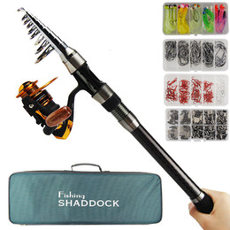Fishing Tackle Combo 3.6M Spinning Canna da pesca Mulinello Combo Saltwater Fishing Rod Reel Set regalo on Sale