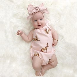 Baby Satin Bloomer Australia - Satin Bodysuit Baby Clothing Cool Baby Girls Original Bloomer Suit Set Body jumpsuit Summer Style DS26