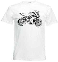 2018 New Summer Men T-shirt Hip Hop CBR650F, T-Shirt Street Moto CBR 650F T-shirt Slim Homme 2018 à la mode Marque 100% coton en Solde