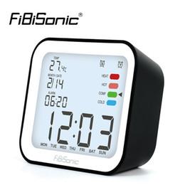 $enCountryForm.capitalKeyWord NZ - LCD Digital Alarm Clocks with Snooze Time Table Alarm Clock with Temperature Calendar Backlight Electronic Desktop Clock