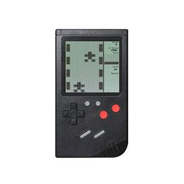 $enCountryForm.capitalKeyWord UK - Tetris Handheld Game Consoles Portable Retro Classic Mini Game player 3.0-inch lcd best gift toys Work Decompression artifact