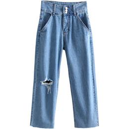 65f2b98bdbee Breite Bein-licht Jeans Online Großhandel Vertriebspartner, Breite ...