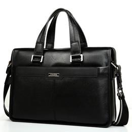 Branded leather Bags for men online shopping - luxury brand genuine leather handbags for men high quality men briiefcase business bag fashion designer bag for men