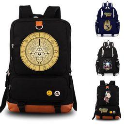 Silver Falls Australia - Dipper Pines Gravity Falls school bag backpack student school bag Notebook backpack Leisure Daily backpack Y18110107