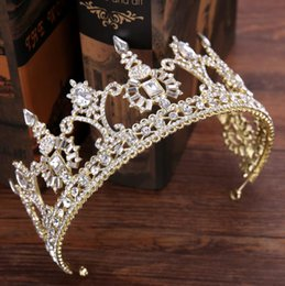 $enCountryForm.capitalKeyWord NZ - Baroque diamond crown bride bridle crown wedding accessories crown ornament