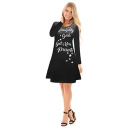 9f2547fd257 LoLita pLus size online shopping - Autumn winter Women Christmas Dress Plus  Size merry christmas Festival
