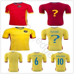 4670e05a8bd Yellow soccer team uniforms online shopping - Romania Soccer Jersey  CHIRICHES MAXIM Customized Any Name Any