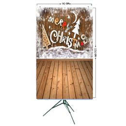 Discount scenic background paper - ALLOYSEED Vinyl Studio Backdrop Christmas Photography Prop Photo Background 3x5ft Home Photo Background 3D Effects 15