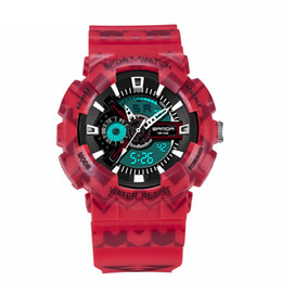 $enCountryForm.capitalKeyWord NZ - Fashion Mens Watches Outdoor Top Sale Wristwatches Digital Army Military Clock Rubber Band Bracelet Watches Dual Display Analog Quartz Saat