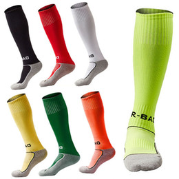 Mechanic towels online shopping - Outdoor Sport Pupils Football Socks Kids Soccer Stockings Towel Bottom Knee High Compression Sport Socks Fit Years Old Free DHL G496Q