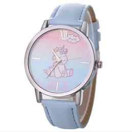 $enCountryForm.capitalKeyWord Canada - New Fashion Women's Clocks Unicorn Design Fashion Cute Animal Girls Leather Band Analog Alloy Quartz Watch