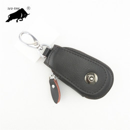 $enCountryForm.capitalKeyWord NZ - Genuine Leather Car Key Wallets Vintage Key Holder Credit Card Housekeeper Keys Organizer Keychain Case Bag Pouch
