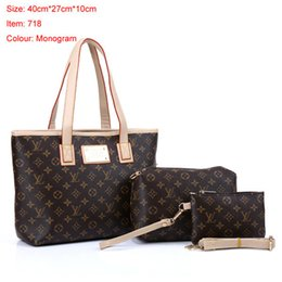 d607388e594d 2018 styles Handbag Famous Designer Brand Name Fashion Leather Handbags  Women Tote Shoulder Bags Lady Leather Handbags Bags purse 718