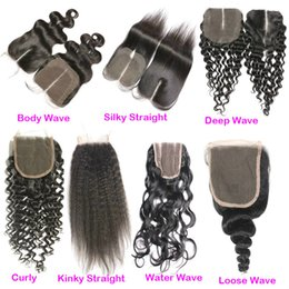 $enCountryForm.capitalKeyWord Canada - 4x4 Free Middle 3Part Hand Tied Peruvian Curly Human Hair Lace Closure Cheap Kinky Curly Swiss Lace Top Closures 1 Piece For Weaves