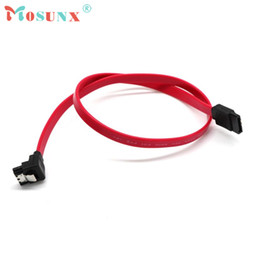 AtA lock online shopping - SATA Cabel High Quality Fast cm Right Angle SATA Cable Serial ATA Data Lead Locking Latching S RA m Cabo July4