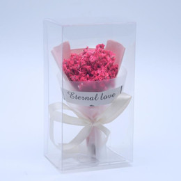 Hand Bouquet Color UK - Accessories with hand gift color dried flowers crystal grass mini bouquet decoration event gifts