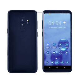 $enCountryForm.capitalKeyWord NZ - Fingerprint Goophone 9 plus MTK6580 quad core 1GRAM 16G ROM Full Screen 6.2inch Cellphone Show 4G LTE android7.0 Unlocked Phone