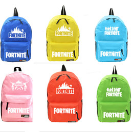 $enCountryForm.capitalKeyWord Canada - 7 colors Fornite students backpacks Candy color game Unisex Student School Book Bag Shoulder bags Travel Bag girls boys holiday gifts best