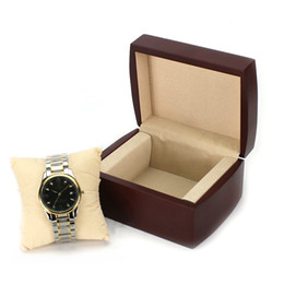 High End Mechanical Watches UK - Luxury High-end Retro Wood Box for Watch Boxes Jewelry Gift Packaging Box for Men and Women Mechanical Quartz Watch Wooden
