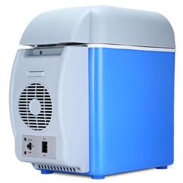Автомобиль Холодильник 12V 7.5L Емкость Портативный Автомобильный Холодильник Кулер Обогреватель Грузовик Термоэлектрический Электрический Холодильник для Путешествия RV Лодка