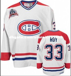 Cheap custom CCM MONTREAL CANADIENS PATRICK ROY STANLEY CUP CENTENNIAL  JERSEY Mens Personalized stitching jerseys 67b39d86a8d
