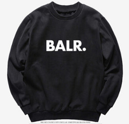 China Men Fashion Clothing Hoodies Tops Spring Autumn Pullovers Hooded Sweatshirts Casual BALR Design Top supplier long neck tops suppliers