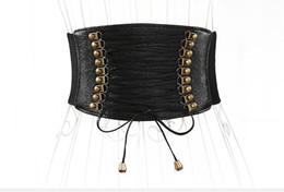 ba73f2314fc0 2018 Bohemian Ladies Belt Imitation Leather Bow Wrap Black Belt Fashion  Elastic Stretch Fringe Wide Belt Decorative Skirt Accessories