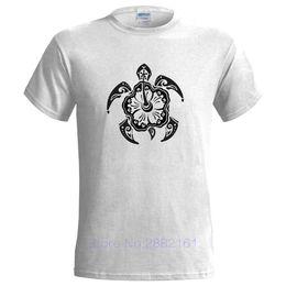 1407c6ffb TRIBAL TURTLE DESIGN MENS T SHIRT TATTOO STYLE MAORI NATURE ART Cotton Men  T-Shirts Classical
