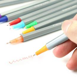 Manga Pen Set Australia - 60Colors  Set 0.4Mm Fine Liner Gel Pens Sketch Drawing Color Pen Art Markers For Drawing Manga Design Art Set Supplies